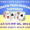 Big prizes in store at Lions Club Texas Hold'em tournament
