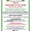 Lions Club kicks off 'Send Santa to the Troops'