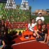 Nebbie students win canned food drive design competition