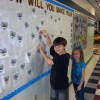Dobbs' students 'leave their mark'