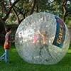 Jones Elementary students ride in Human Hamster Balls