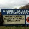 Nebbie names Teacher of the Year