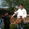 Radish harvest at Dobbs Elementary