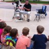 AstroDad educates, entertains Nebbie Williams students