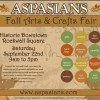 Aspasians Fall Arts & Crafts Fair Saturday in the square
