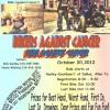 Bikers group presents inaugural Ride Against Cancer Oct 20