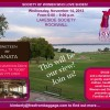 Join Society of Women Who Love Shoes Nov 14