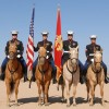 Marine Mounted Color Guard comes to Rockwall