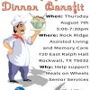 $10 Spaghetti Dinner Benefit supports Meals on Wheels
