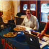 Sports Radio 'The Ticket' visits downtown Rockwall for live broadcast