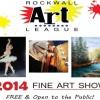 Rockwall Art League Fine Art Show coming Oct 3-5