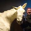 State Fair butter sculptor spreads artistic message