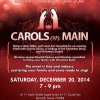 Carols on Main set for Dec 20 at Main Events Center, Rowlett