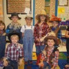 Nebbie kindergarteners fall for scarecrows