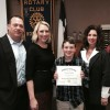 Rockwall Noon Rotary recognized Nebbie sixth grader as Student of Honor