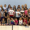 Rockwall Stingerettes host holiday clinic