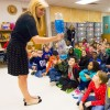 WFAA Weather Minds visit Cullins-Lake Pointe students