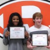 Jacket Backers name Athletes of the Month