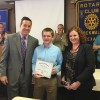 Rockwall Rotary recognizes Student of Honor from Cain Middle School