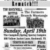 Vintage Base Ball rematch: Rockwall Retros vs Farmers Branch Mustangs