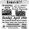 Vintage Base Ball rematch: Rockwall Retros vs Farmers Branch Mustangs