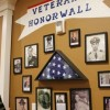 Rock Ridge residents honored with unveiling of Veteran's Wall