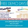 "Joyful Melodies invites public to ""Free Demo Days"""