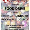 Rockwall Urgent Care sponsors food drive to support Helping Hands