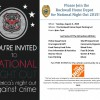 National Night Out event at Rockwall Home Depot parking lot Tuesday