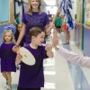 Spirit Walk tradition continues with Amy Parks Heath kindergarten parade