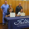 Two Fulton students earn national awards for academic achievement
