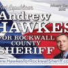 Andrew Hawkes files for ballot placement for Rockwall County Sheriff