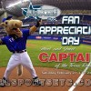 Texas Rangers mascot comes to Rockwall for Fan Appreciation Day