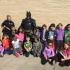 Superhero on special mission visits Springer Elementary