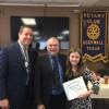 Rockwall Rotary recognizes Student of Honor from Stevenson Elementary