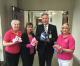 Rockwall Soroptimist donates nearly 100 handmade hats to hospital for hair loss