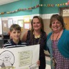 Cullins-Lake Pointe fifth grader wins second in state for Sons of American Revolution poster contest