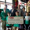 Dodie's donates over $5,000 to YMCA's Angel Camp for kids with special needs