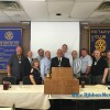 Rockwall Rotary installs new officers, welcomes new club president