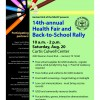 Garland ISD Health Fair and Back-to-School Rally