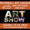 Rockwall Art League's Fine Art Show & Sale Oct 14-16