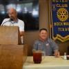Coaches Webb, Moss provide season outlook at Rockwall Rotary meeting