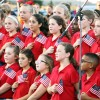 Rockwall ISD honors first responders prior to football game Sept 9