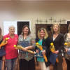 Rockwall Soroptimist present local moms with awards for continuing education