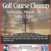 Harry Myers Disc Golf Course Clean-Up Saturday
