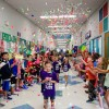 Amy Parks-Heath Elementary hosts Annual Kinder Walk