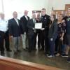 Rockwall sheriff's deputy receives certificate of achievement