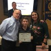 Amy Parks-Heath 6th grader named Rotary Student of Honor