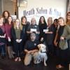Heath Salon & Spa donates to Women in Need, Patriot Paws