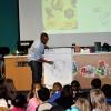 Illustrator AG Ford visits Jones Elementary